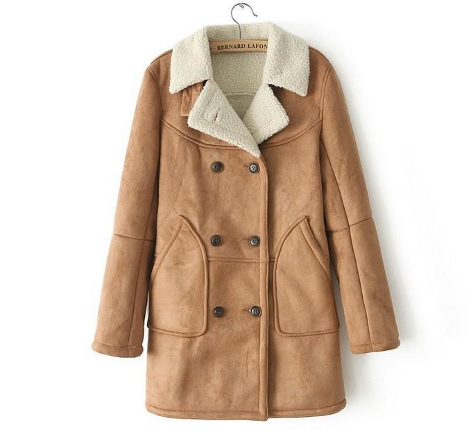 Womens Suede Coats - Coat Nj