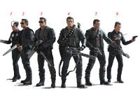 NECA Terminator 2 S3 Series 3 Action Figure BRAND NEW in box 6 styles