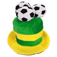 Halloween decoration masquerade 2 football fans hat props