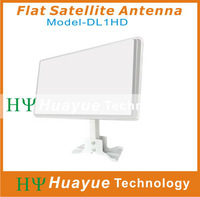 Flat Satellite Antenna Azfox DL1HD Dual Linear Polarization Worldwide Used Free Shipping