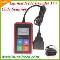 2013 New Creader IV+ Car Universal Code Scanner Launch X431 Creader IV+ Code Reader Free Shipping