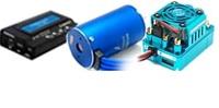 XERUN 4068SD 2250KV Sensored Brushless Motor SCT PRO 120A ESC & LCD Porgram Box Combo