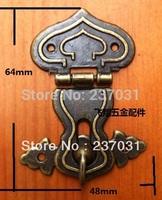 Archaize buckles/alloy lock/gourd lock/retro button box/box buckles/small black case