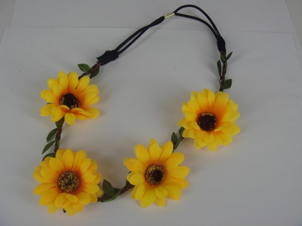 60PCS Flower Fascinator Headpiece Bride Tiara Wedding Prom Hair Band Headband A8(China (Mainland))