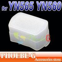 100% New & Wholesale Flash Bounce Diffuser For YONGNUO YN560 YN565EX SPEEDLITE Free Shipping