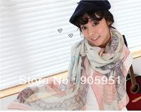 FREE shipping  2013 scarf brand luxury silk   New Style Fashion scarf  women's Temperament chiffon scarf shawl modern  summer
