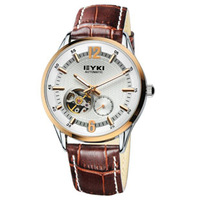 eyki strap  mechanical watch cutout commercial male mechanical watch 8691