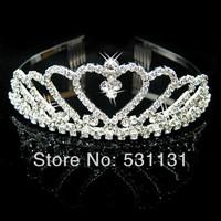 bride hair accessory rhinestone bride hair crown
