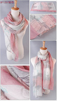 Free shipping 2013 autumn and winter scarf ultralarge women's ultra long scarf spring and summer air conditioning cape 180 90