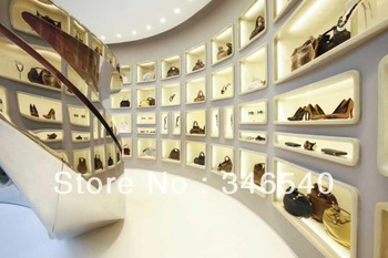 Funroad 2013 shoes store interior store fixture and shoes showcase,free-standing,easy installment, top quality!!