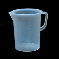 New Plastic Measuring Cup Kitchen Laboratory Medical Supplies 5000ML Free Shipping