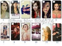 2013 fashio design!! 12PCS/LOT(12style) Demi Lovato white  hard case back cover for iPhone 5 5th 5S+free shipping