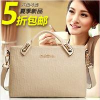 Portable women's 2014 ol handbag one shoulder cross-body genuine leather fashion quality women's big bags