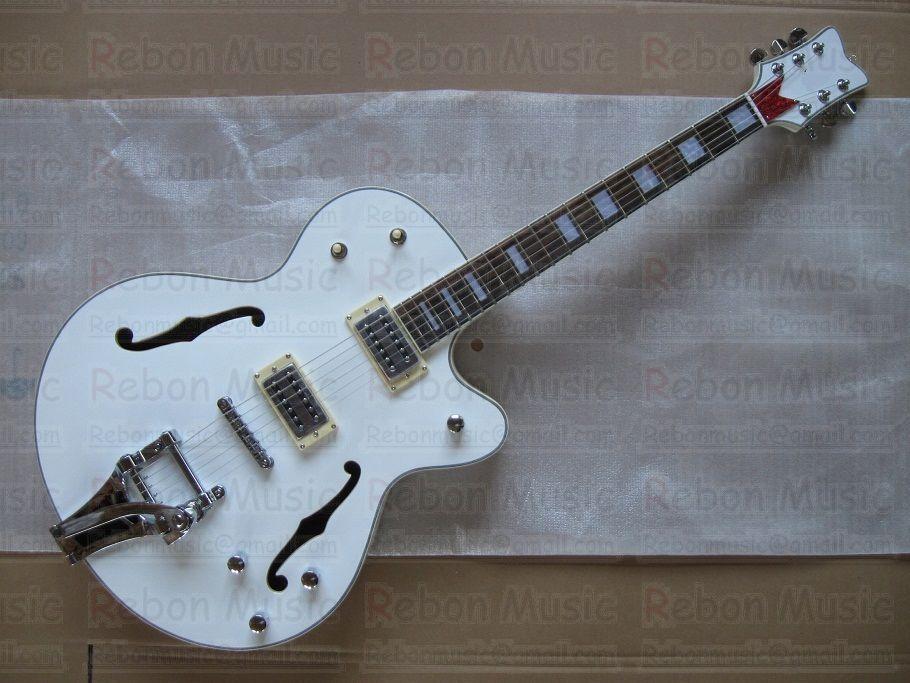 Gibson Hollow Body White White Big Hollow Body