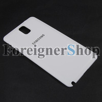 200 PCS Original Genuine Battery Door Leather Cover Back Housing For Samsung Galaxy Note 3 III N9000 White