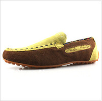 Free shipping 2013 British Men's Casual Leather Shoes New Fashion Genuine Leather Breathable