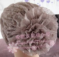 Most popular scarve bun flower lace cap bag hair muslim bandanas hijab muslim product for women