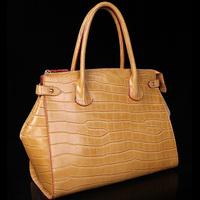 New arrival 2013 women's handbag fashion crocodile skin genuine leather bag handbag cross-body bags large