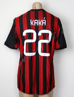 KAKA #22 jersey for AC Milan 2013-2014 Home 13/14 Soccer uniforms futebol shirt Thai Quality
