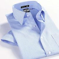 Free Shipping 2013 New Fashion High Quality 100% Cotton Plus Size Short Sleeved Shirt Men XXXL