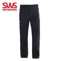 Sws men's fleece pants 2013 spring autumn and winter fashion outdoor thermal breathable pants