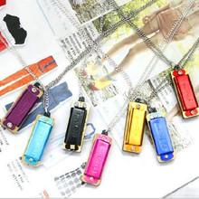 Free Shipping Fashion Jewelry World s smallest mini harmonica harmonica