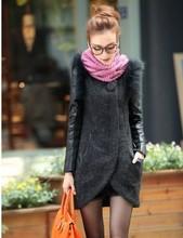 popular fur wool coat