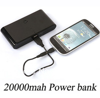 5 pcs/lot shipping by Fedex/UPS, 20000mah power bank suitable for iphone4/4s/5/5s/5c.