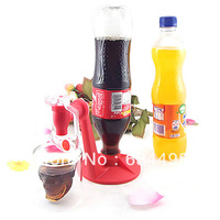 Creative Sprite Coke Bottle Inverted Water Dispenser Switch Drinking Device
