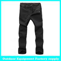 Dropshiiping New Snowboarding Sport Windproof Waterproof Breathable Winter hiking camping ski snow trouser fleece pants man