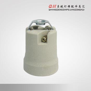 Free shipping Lamp Bases E27 ceramic lamp e27 lamp base screw cap e27 ceramic lamp fitting accessories