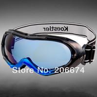 NEW 2013 Bamboo Design Stylish Windproof Ski Goggles (Blue)+free shipping