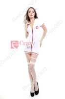 Sexy Women Miss Nurse Doctor Outfit Erotic Costume Fancy Dress Cosplay Lingerie Sexy nurse costume Halloween costume makeup
