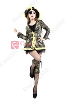 New Adult Pirate Fancy Costumes Halloween Deluxe Dress w/ Hat Dress Outfit SIZE M XL Deluxe Pirate Costume Halloween costume
