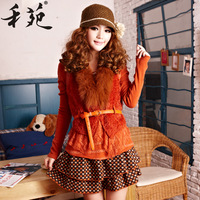 2013 autumn and winter women faux two piece set long-sleeve fashion winter one-piece dress elegant