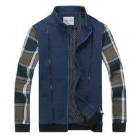 Free shipping Coat jacket cardigan top men stand collar male jacket fashion jacket coat