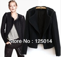 2013  women's Winter new Slim short coat thick woolen jacket