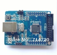 Free Shipping AT91SAM7S64 ARM Minimum System Core Board Learning Board Development Board
