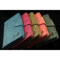Hot 2013 women genuine leather wallet card holder purse  free shipping