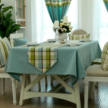 Fluid table cloth tablecloth dining table cloth gremial table cloth table mat cloth 73 solid color