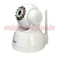 Fast EMS Shipping 3pcs Hot Sale New Arrival EasyN F - M136 IP/ Netwok Wireless Security Camera Wifi P/T IP Camera - White