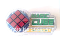 Free shipping Elementary magic cube /speed enclosed turning puzzle cube