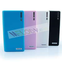 Free Shipping 20,000mAh New Portable Mobile Power Bank Double USB for Smartphone with LED Torch
