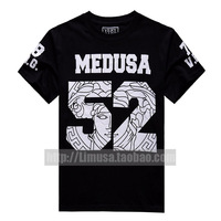 2013 new fashion men Medusa 52 letter pattern Totem  pyrex  T-shirt