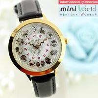 Newest Handmade POLYMER CLAY Korea Mini Diamond Dress Women Watch,Hot Selling - twelve constellations