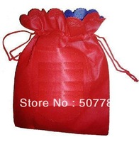 Free Printing 1 Color Logo Non-woven Bag. With String 100Pcs/Lot Bag Products Bags Promotional/Gift /Advertsing Bag ITEM BPD028