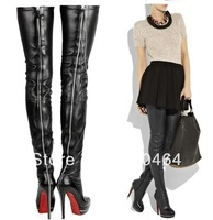 Free Shipping High Fashion Designer Brands 2013 New Thigh High Boots for Women
