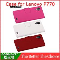 COOMAST  1PCS 100% original  Leather Case for Lenovo P770