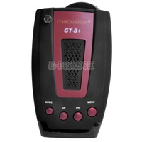 100% Original Car Radar Detector Conqueror GT-8+ GPS Support X K KA BANDS Laser Detection VG-2  Auto highway city Modes