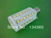 Corn Bulb12W SMD5050 60pcs LED Light Home Bedroom Lamp E27 220V 180degree High Power cool White/ Warm White 2pcs/lot